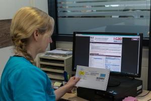 Enregistrement des données sur le fichier national